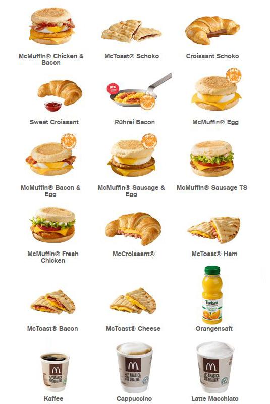 Mcdonalds Frühstück Bis Wieviel Uhr